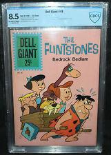 Dell Giant #48 - Flintstones #1 - 1st Flintstones in Comis CBCS Grade 8.5 - 1961