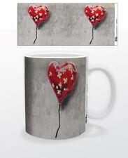 BANDAGED HEART 11 OZ COFFEE MUG TEA CUP DECOR LOVE POSITIVE STRONG WOMAN MAN USA