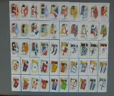 Cleary's Australia Complete Set of 50 Flags and Funnels Mint Condition