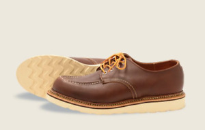 RED WING SHOES CLASSIC OXFORD BLACK 8109