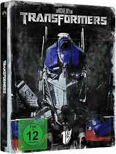 TRANSFORMERS (Shia LaBeouf, Megan Fox) Blu-ray Disc, Steelbook NEU+OVP