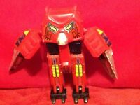 Vintage 1984 Convertors Avarians Hoot Owl Robot Figure Transformers Gobots Tonka