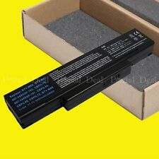 4400MAH BATTERY MSI M660 M662 M655 BATTERY SQU-528 SQU-524 SQU-526 BTY-M66