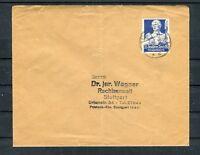 Bedarfsbrief DR Mi.-Nr. 563 EF nach Stuttgart - b5789