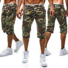 Kurze Herren-Shorts & -Bermudas aus Baumwolle mit Camouflage-Muster
