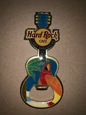 Hard Rock Cafe Cabo San Lucas Mexico Guitar Bottle Opener Magnet