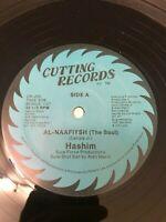 Hashim Al-Naafiysh Vinyl Record Original Pressing 80s Electro