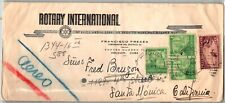 GP GOLDPATH: CARIBBEAN COUNTRY COVER ROTARY AIR MAIL _CV556_P16