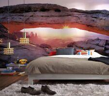 368x254cm Chambre Papier Peint Mural Lever Du Soleil en Canyonland Photo Art