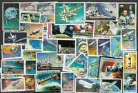 Space collection of 500 different stamps