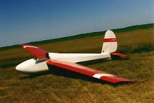 Giant 1/3 Scale Schweizer 1-26B Sailplane Plans, Templates & Instructions 160ws