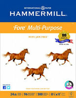 Hammermill Printing Paper, Fore MP, 24lb, 8.5 x 11, Letter, 500 Sheets