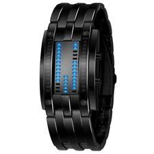 New The Time-Machine Wristwatch Watch Luxury Stainless Steel LED Digital