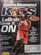 February 2005 LeBron James Cleveland Cavaliers Sports Illustrated For Kids