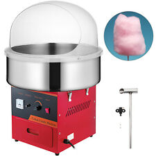21 Commercial Cotton Candy Machine Sugar Floss Maker Red Party Electric Withcover
