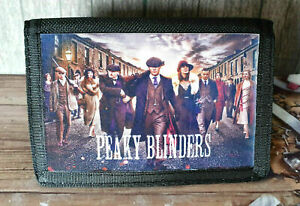Retro Peaky Blinders Tommy Shelby The Garrison Nylon Wallet Ideal Xmas Gift