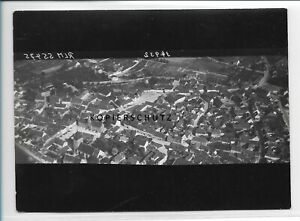 ZZ-2478/ Könnern Foto seltenes Luftbild 1938 18 x 13 cm
