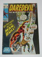 Daredevil #78 1st Appearance & Origin of Man-Bull 1971 Marvel Comics FN
