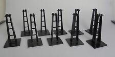 Lego ® sistema 10x monorraíl gran pilar pilar mástil de 6399 6991 6990 6347 6921
