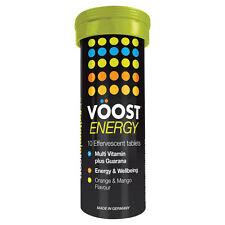 V?OST Voost Vitamin Energy Multi Vitamin Plus Guarana 10 Effervescent Tablets