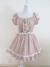 Liz Lisa Floral Dress Lolita Hime Gyaru shibuya109 Very Cute (a295)