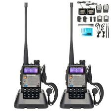 2 x Baofeng Uv-5Xp 8W Walkie Talkie Uhf Vhf Fm Two Way Radio Scanner Transceiver