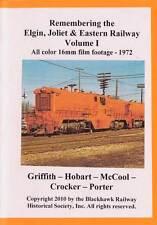 Remembering the EJ&E Ry Volume 1 DVD NEW Silent Elgin Joliet & Eastern Railway