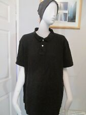 CEDARWOOD STATE- BLACK, REGULAR FIT POLO-SHIRT SIZE X X LARGE
