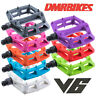 New DMR V6 Lightweight Nylon Flat Platform Bike Pedals - 9/16th