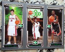 LEBRON JAMES 2003-04 Topps Matrix Triple Rookie Card RC Cavaliers Wade MVP Darko