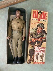 Vintage GI Joe 1964 BLACK SOLDIER HASBRO African American & Uniform