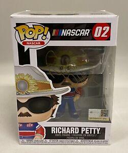 Richard Petty Signed FUNKO POP Toy NASCAR Autograph PSA/DNA COA AUTO