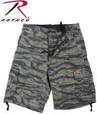 Tiger Stripe Camouflage Vintage Infantry Camouflage Military Cargo Shorts 2214