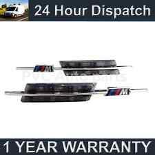 2x Para Bmw Serie 3 F30 E90 E91 E93 E46 98-smoked/amber Led lado Repetidor Lámparas