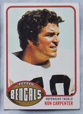 1976 Topps Ron Carpenter Cincinnati Bengals #432 Football Card nm