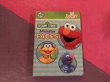 LeapFrog Tag Pen LeapReader Junior Book — SESAME STREET MONSTER FACES