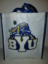 "BYU Cougars COLLEGE CLASSIC HEAVY DUTY TOTE 16"" X 14"" NEW"