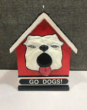 GA UGA Bulldog birdhouse #2