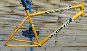 "VGC Kona Cinder Cone frame 20"" mountain bike frame metallic gold explosive"