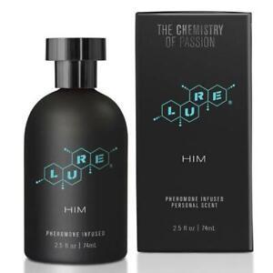 Lure Black Label for Him - Pheromone Spray for Men - 74 ml
