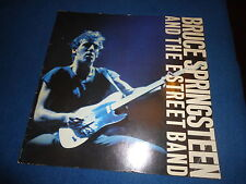 Programme de concert Bruce Springsteen and the street band 1981+ Clippings