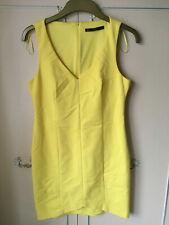 ZARA TRAFALUC LEMON DRESS - EU LARGE