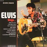 ELVIS PRESLEY - ELVIS SINGS  2 VINYL LP NEU