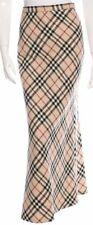 Burberry cotton maxi skirt