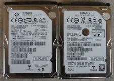 "LOT 2x 2pcs Hitachi 2.5"" 500GB HARD DISK DRIVE PC Windows MAC OS X High Sierra"