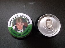 STEPHEN HENDRY  SNOOKER LEGEND MAGNET   55MM  IN SIZE