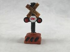 Stop Crossing X Rail Road - Garden Ornament # 8501 - House Plant Accessories