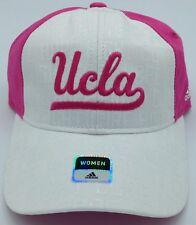 NCAA UCLA Bruins Adidas Women's Fight  Breast Cancer Buckle Back Cap Hat #EX38W