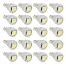 20x T10 0.1W 1 LED 5050 SMD lampada di illuminazione auto luce bianca NUOVO Q5Y3