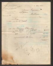 """LE HAVRE (76) IMPORT-EXPORT POISSONS """"Louis GELIS-DIDOT / STEMPOWSKI"""" en 1922"""